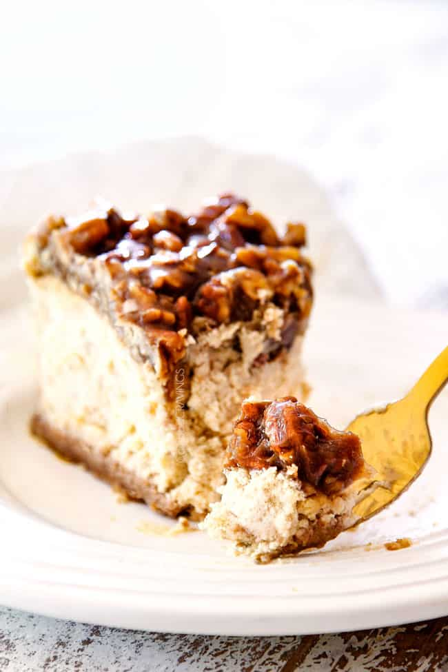 Best Pecan Pie Cheesecake Step By Step Photos