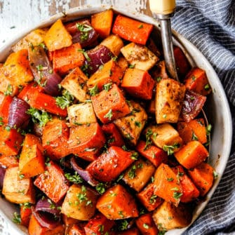 Roasted Root Vegetables (2 Ways!)