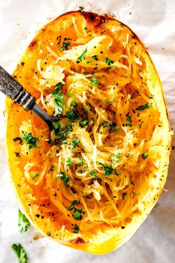 How To Cook Spaghetti Squash In The Microwave Or Oven How