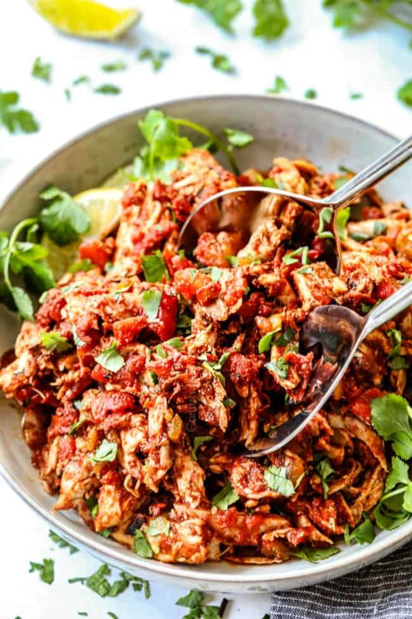 10 Minute Mexican Chicken Tips Tricks Recipe Ideas Freezer