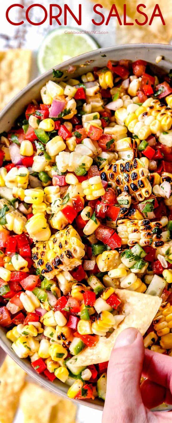 Corn Salsa