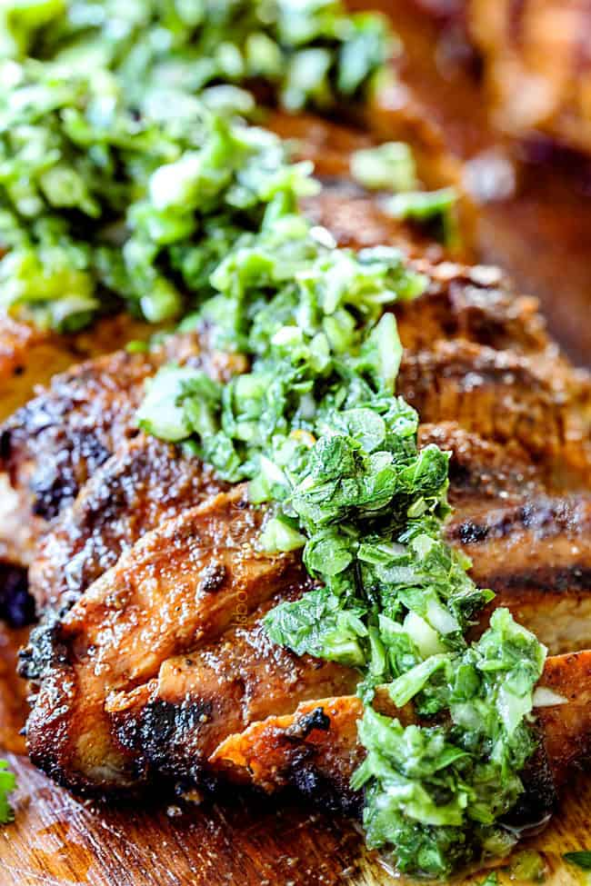 up close of grilled pork tenderloin recipes