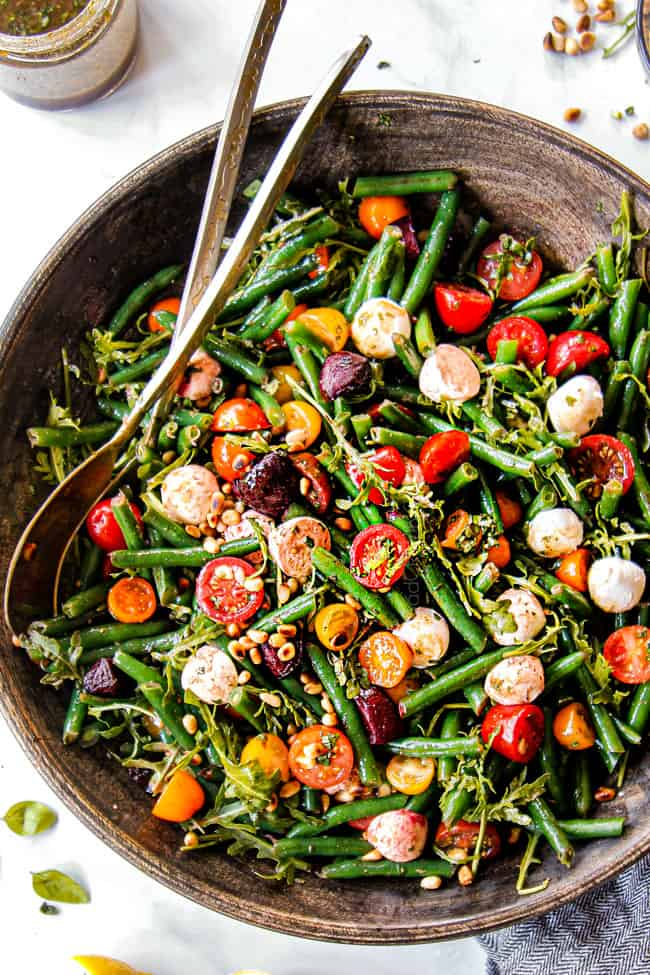 Green Bean Salad With Balsamic Basil Vinaigrette Make Ahead Tips Tricks