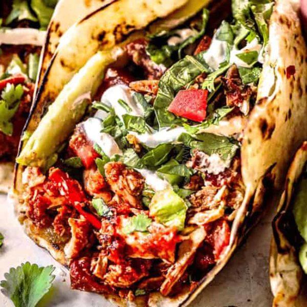 Shredded Chicken Tacos Carlsbad Cravings