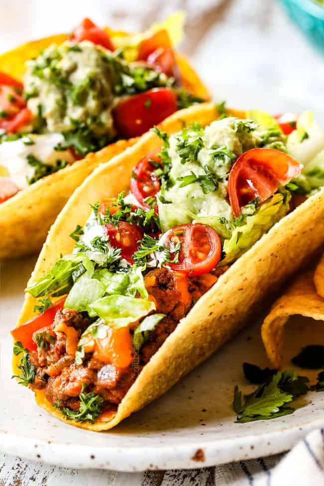 Best Ground Beef Tacos Variations Make Ahead Freezer