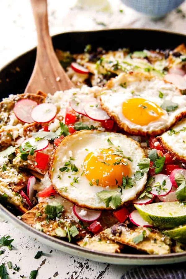 Chilaquiles (Verdes or Rojos)