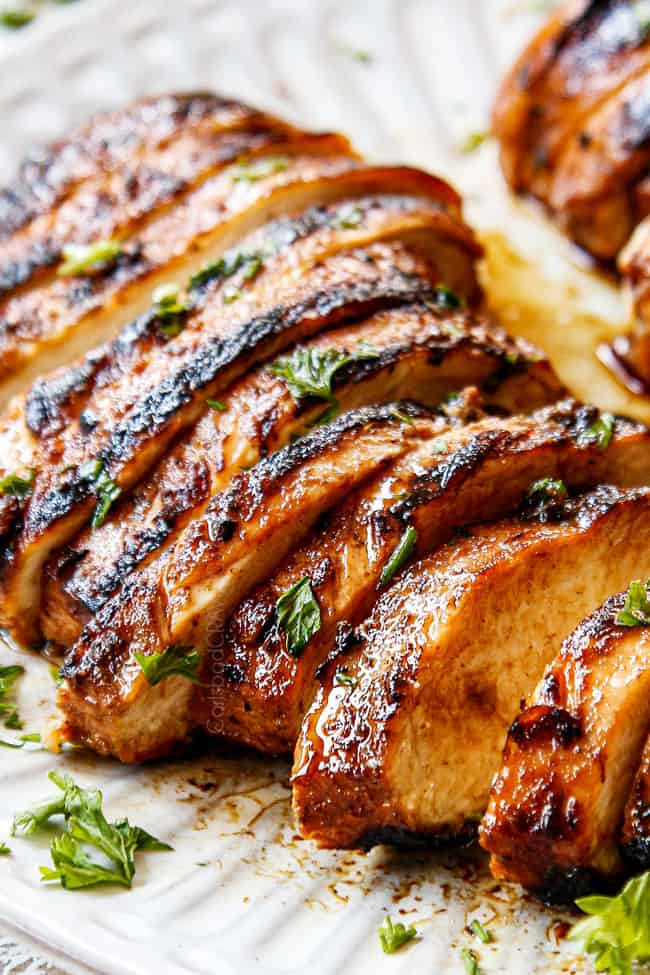 BEST Balsamic Chicken Marinade how to make ahead ...