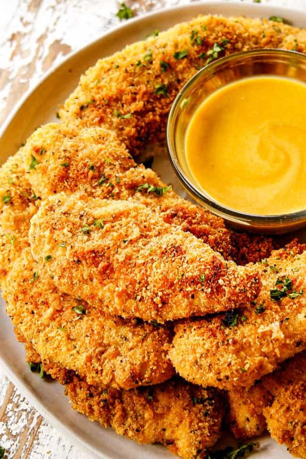 Parmesan Crusted Chicken (baked!)