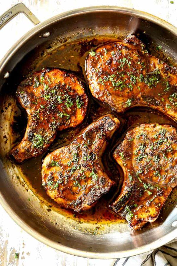 Brown Sugar Pork Chops