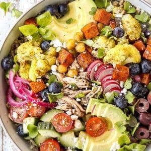 Mediterranean Rice Bowls